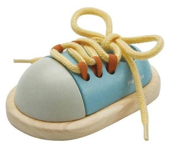 Plan Toys But do nauki sznurowania - barwy sadu - zdjęcie główne