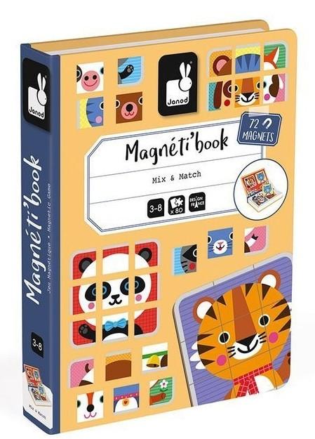 Janod Magnetibook Puzzle zwierzątka - zdjęcie główne