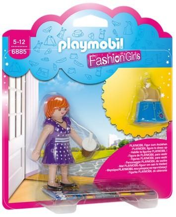 Playmobil Fashion Girl - Wielkie miasto 6885 - zdjęcie główne
