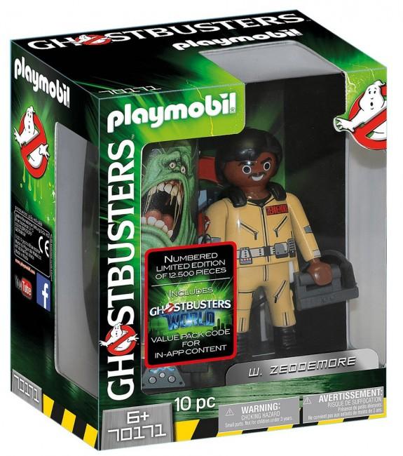 Playmobil Ghostbusters™ Figurka do kolekcjonowania W. Zeddemore - zdjęcie główne