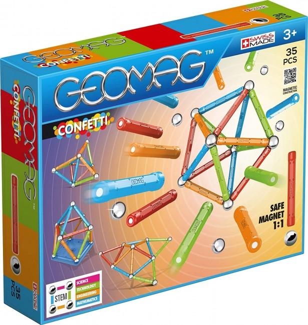 Geomag Confetti 35 Elementów Geo-351 - zdjęcie główne