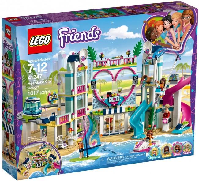 Lego Friends Kurort W Heartlake 41347 Cena Raty Sklep
