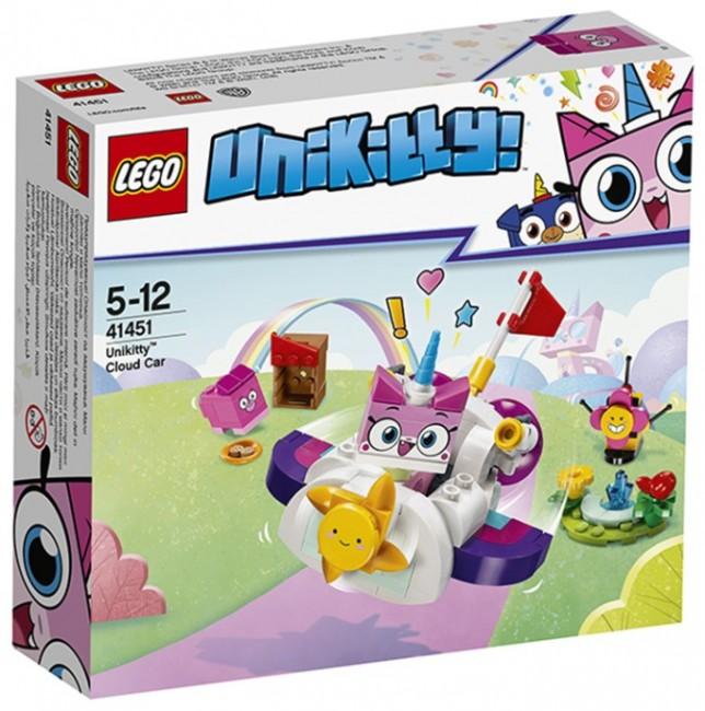 LEGO Unikitty Chmurkowy pojazd Kici Rożek 41451 - zdjęcie główne