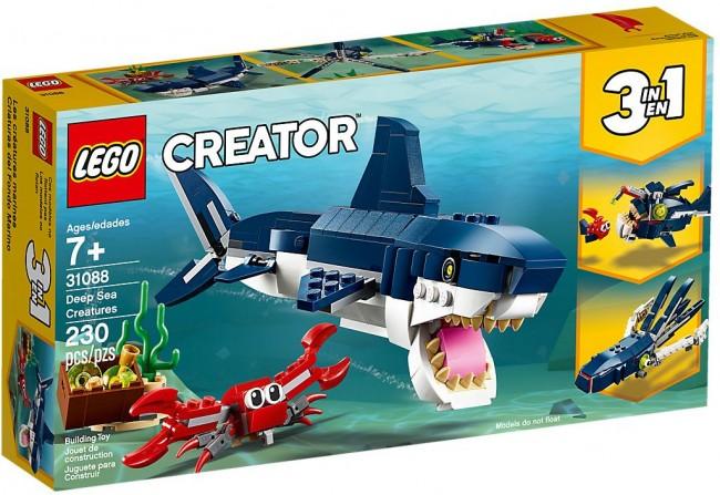Lego Creator Morskie stworzenia 31088 - zdjęcie główne