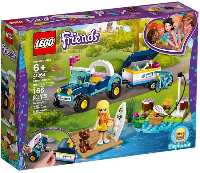LEGO Friends Łazik z przyczepką Stephanie 41364 - zdjęcie główne