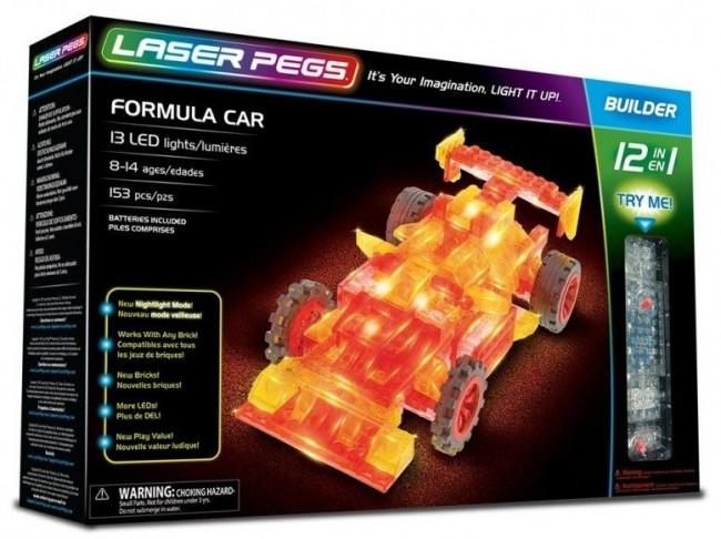 Laser Pegs 12 In 1 Formula Car 12011 - zdjęcie główne
