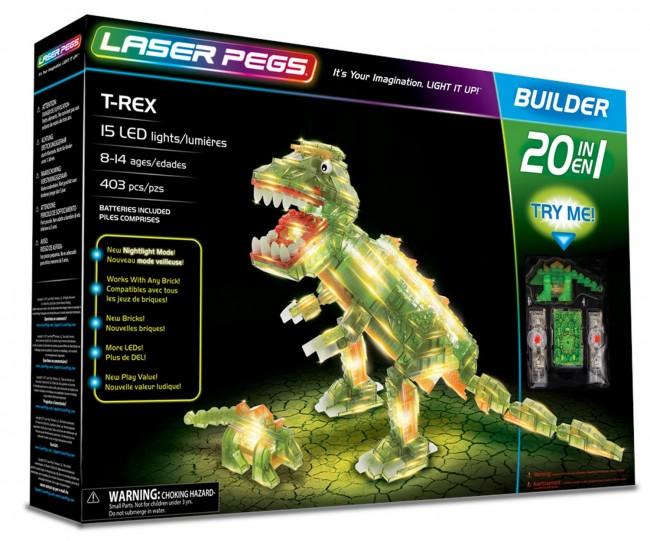 Laser Pegs 16 In 1 T-Rex 20010 - zdjęcie główne