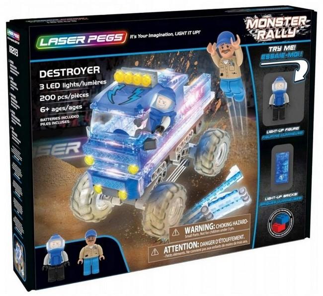 Laser Pegs - Niszczycielki Monster Truck - zdjęcie główne