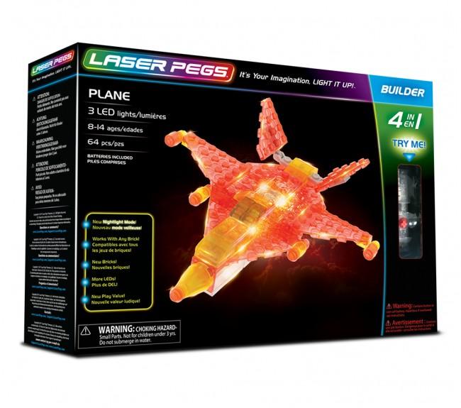 Laser Pegs 4 In 1 Plane 41010 - zdjęcie główne
