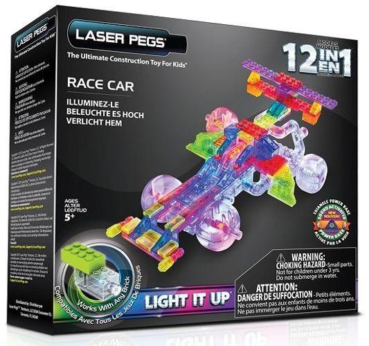 Laser Pegs 12in1 Race Car, Klocki 84 el. G870B - zdjęcie główne