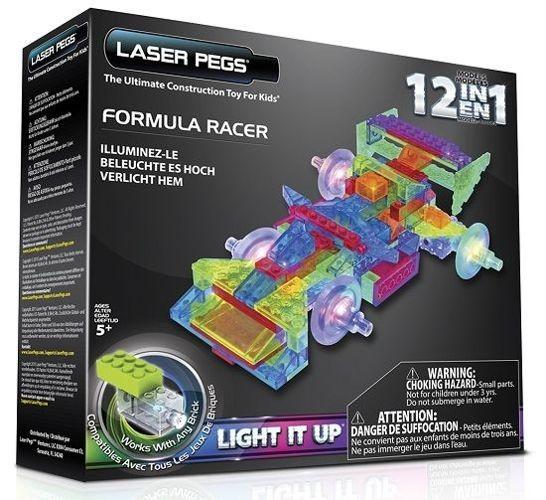 Laser Pegs 12in1 Formula Racer, Klocki 122 el. PB2160B - zdjęcie główne