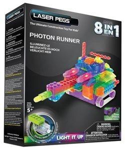 Laser Pegs 8in1 Photon Runner, Klocki 93 el. RN2180B - zdjęcie główne
