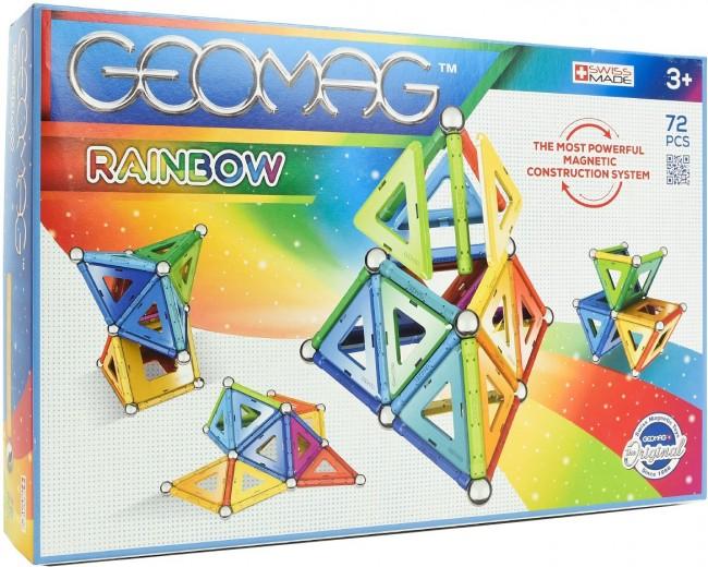 Geomag Klocki Magnetyczne Rainbow 72 el GEO-371 - zdjęcie główne