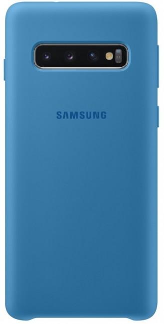 Samsung Silicone Cover do Galaxy S10 niebieski - zdjęcie główne