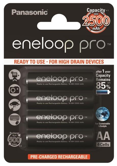 Panasonic Eneloop Pro AA 2500mAh (4szt.) - zdjęcie główne