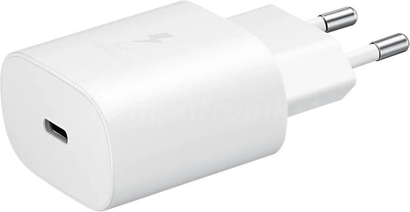 Samsung 25W EP-TA800 (bez kabla) biały - zdjęcie główne