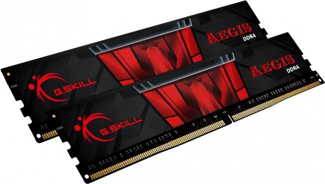 G.SKILL Aegis 16GB [2x8GB 3200MHz DDR4 CL16 XMP 2.0 DIMM] - zdjęcie główne