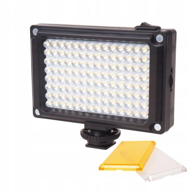 ULANZI Lampa Diodowa 112 LED Ulanzi do Aparatu DSLR Kamery - zdjęcie główne
