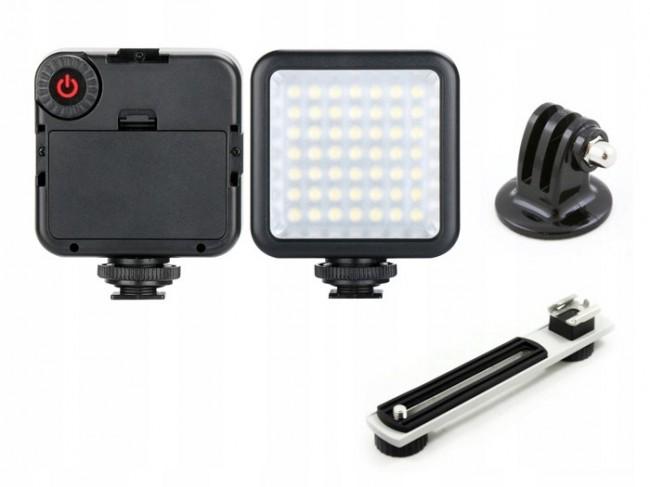 ULANZI LAMPA Oświetleniowa LED 49 do kamery / aparatu + SZYNA - zdjęcie główne