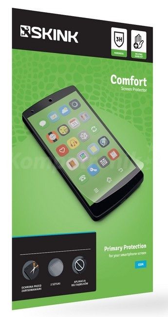 Skink Comfort do Asus Zenfone 4 (2szt) - zdjęcie główne