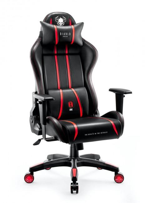 Diablo X-One 2.0 King Size Czarno-Czerwony - zdjęcie główne
