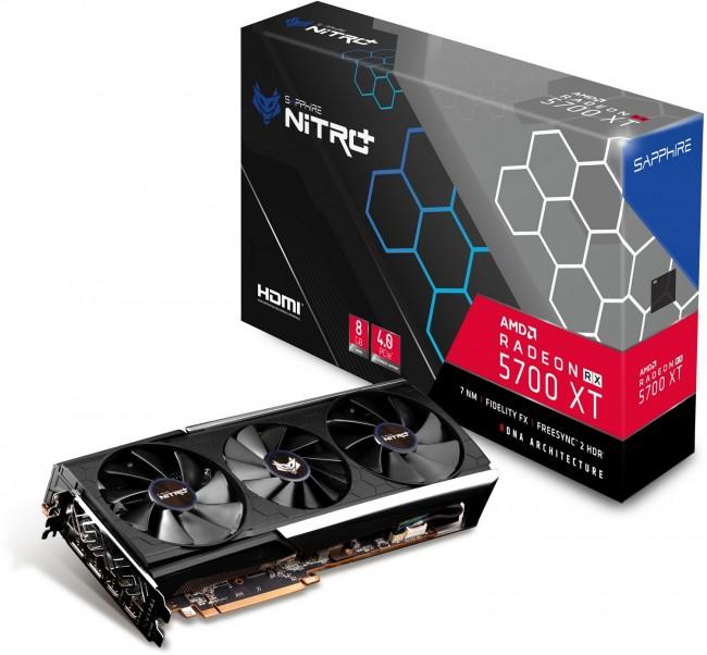 Sapphire Radeon RX 5700 XT NITRO+ 8G - zdjęcie główne