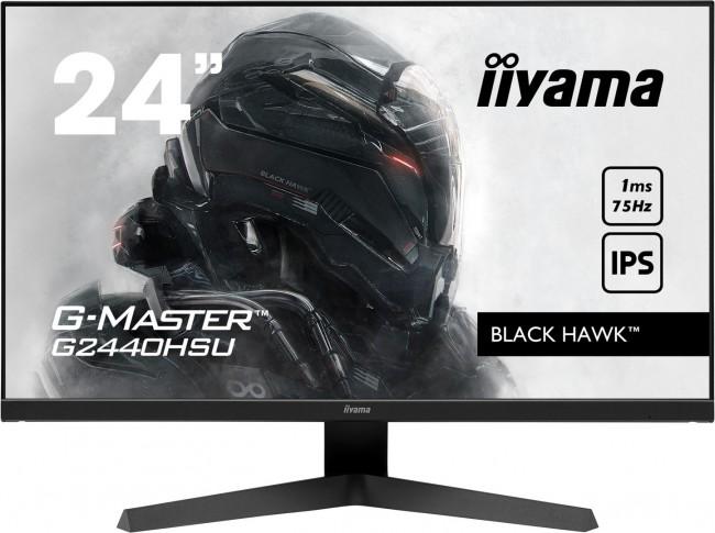 iiyama G-Master G2440HSU-B1 Black Hawk [0.8ms, 75Hz, FreeSync] - zdjęcie główne