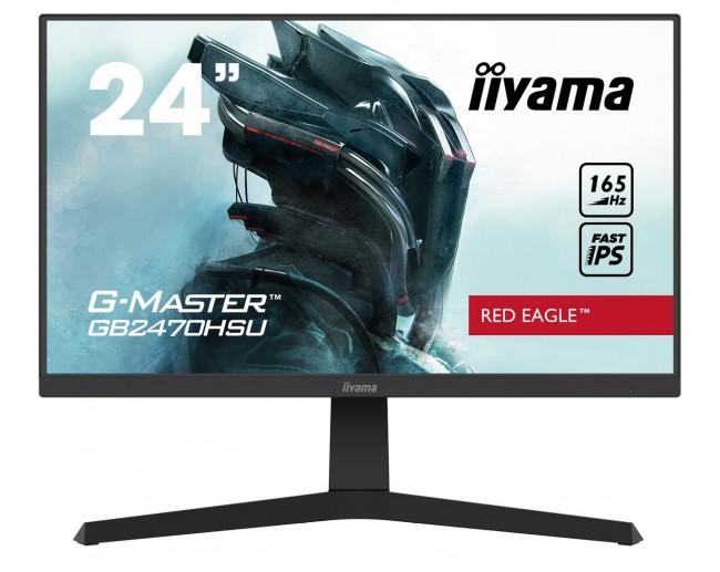 iiyama G-Master GB2470HSU-B1 Red Eagle [0.8ms, 165Hz, FreeSync Premium] - zdjęcie główne