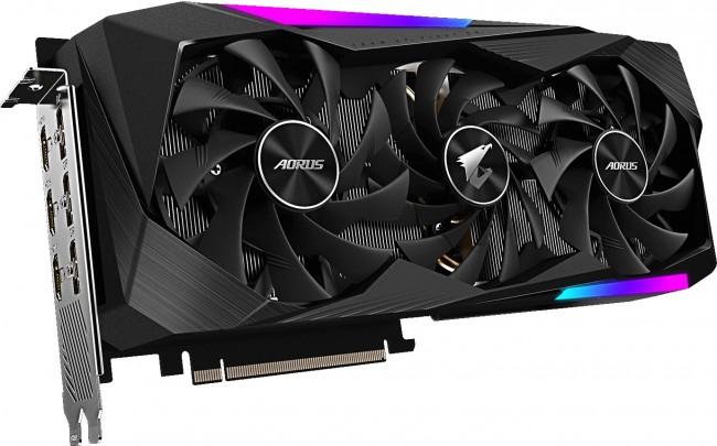 Gigabyte GeForce RTX 3060 Ti AORUS MASTER 8GB OC - zdjęcie główne