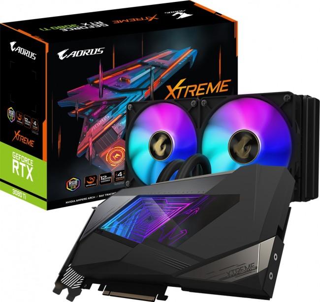 Gigabyte GeForce RTX 3080 Ti AORUS XTREME WATERFORCE 12GB - zdjęcie główne