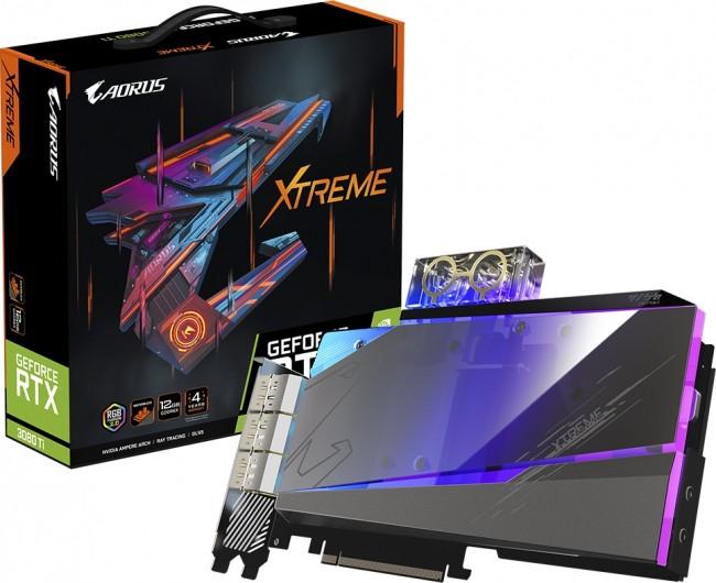 Gigabyte GeForce RTX 3080 Ti AORUS XTREME WATERFORCE WB 12GB - zdjęcie główne