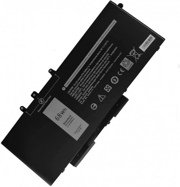 Dell Laptop battery - 1 x 4-cell 8500 mAh 68 Wh - zdjęcie główne