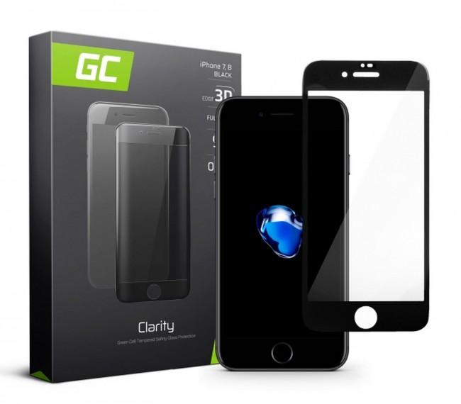 Green Cell GC Clarity do iPhone 7/8 czarny - zdjęcie główne
