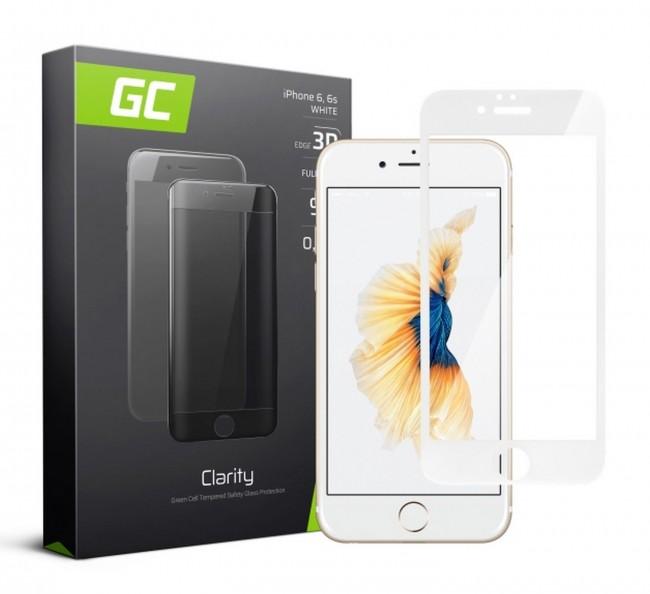 Green Cell GC Clarity do iPhone 6/6s biały - zdjęcie główne