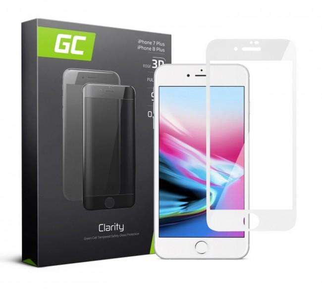 Green Cell GC Clarity do iPhone 7 Plus/8 Plus biały - zdjęcie główne