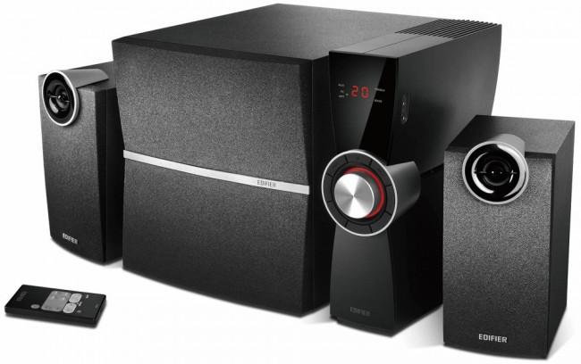 Edifier 2.1 C2XD Czarne - zdjęcie główne