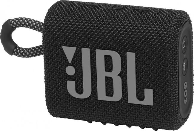 JBL GO 3 Czarny - zdjęcie główne