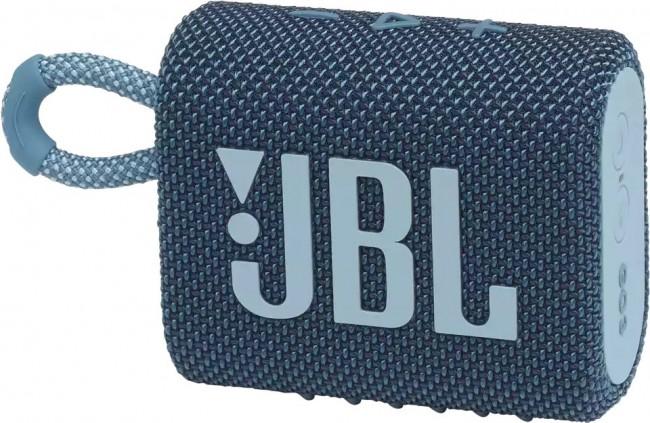JBL GO 3 Niebieski - zdjęcie główne