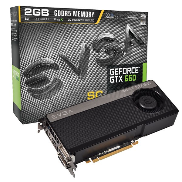 EVGA GeForce GTX 660 2GB SuperClocked - zdjęcie główne