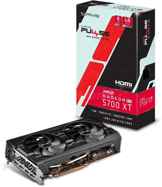 Sapphire Radeon RX 5700 XT PULSE BE 8G - zdjęcie główne