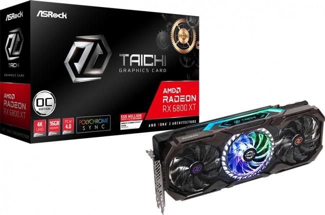 ASRock Radeon RX 6800 XT Taichi X 16G OC - zdjęcie główne