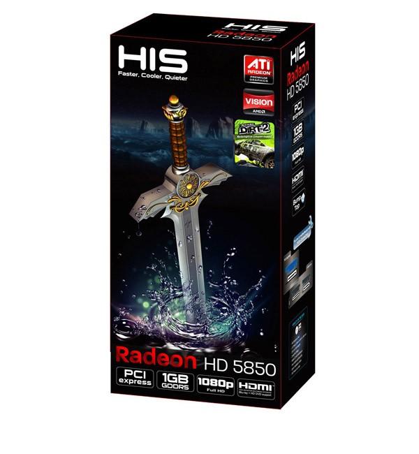 Radeon 5850 HIS 1GB 2xDVI&HDMI&DP (PCI-E) - zdjęcie główne