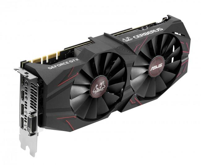 ASUS GeForce GTX 1070 Ti CERBERUS 8GB GDDR5 VR Ready - zdjęcie główne