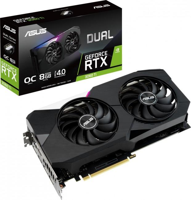 ASUS GeForce RTX 3060 Ti DUAL 8GB OC - zdjęcie główne