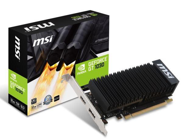 MSI GeForce GT 1030 2GH LP OC - zdjęcie główne