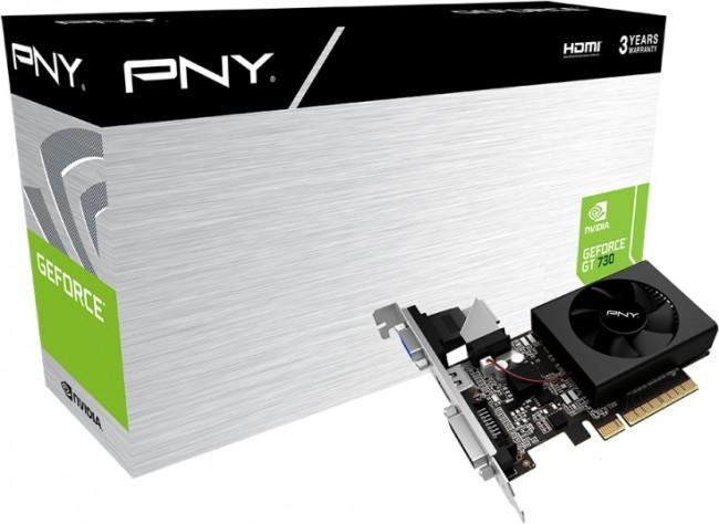 PNY GeForce GT 730 2GB DDR3 - zdjęcie główne