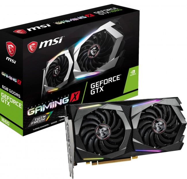 MSI GeForce GTX 1660 GAMING X 6GB OC - zdjęcie główne