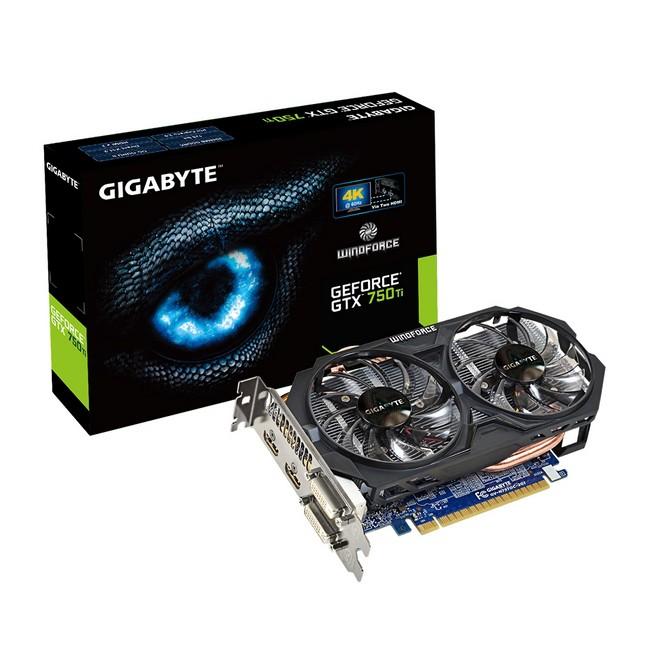 Gigabyte GeForce GTX 750Ti 2GB OC - zdjęcie główne