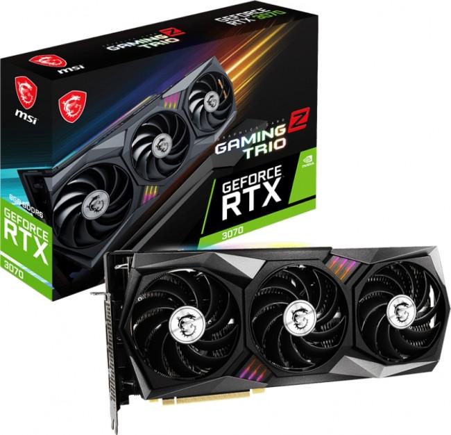 MSI GeForce RTX 3070 GAMING Z TRIO 8GB LHR - zdjęcie główne