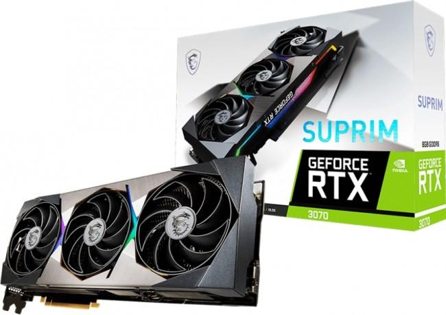 MSI GeForce RTX 3070 SUPRIM 8GB - zdjęcie główne